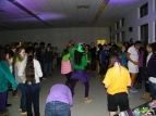 Middle school students dance to the beat